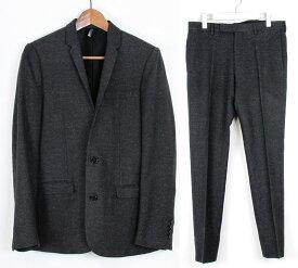 dior homme/ディオールオム ミックスウール2ボタンジャケット セットアップスーツ サイズ:44 カラー:チャコール【中古】【古着】【USED】【171114】【未yast】