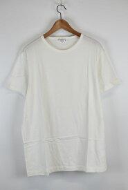 Yohji Yamamoto Pour Homme/ヨウジヤマモトプールオム 17AW クルーネックプレーンTシャツ HK-T82-084 サイズ:3 カラー:ホワイト【中古】【古着】【USED】【200115】【yast】