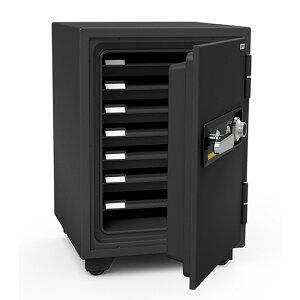 【開梱設置無料】EIKO エーコー ダイヤル式 小型耐火金庫 BSD-7 1時間耐火 103kg【送料無料】【メーカー直送】