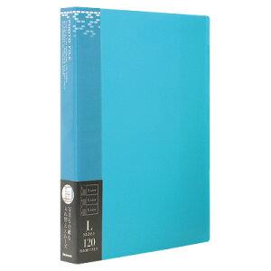 ナカバヤシ バインダー式ポケットアルバム フォトファイル アS-MY-141-B ブルー フォトアルバム 写真 #103# #104#