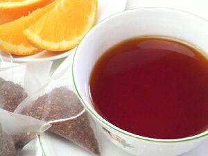 ルイボス ブラッドオレンジ 三角ティーバッグ 2.5g x 5コ(ルイボスティー)