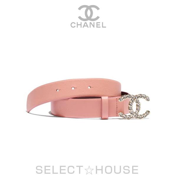 シャネル CHANEL ベルト【2019春夏プレコレクション】【SELECTHOUSE☆セレクトハウス】ピンク