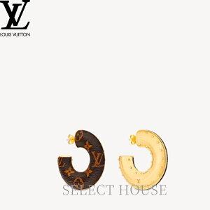 【送料無料】【SELECTHOUSE☆セレクトハウス】LOUIS VUITTON ルイ・ヴィトン ブックル ドレイユ・フープ ワイルドLV