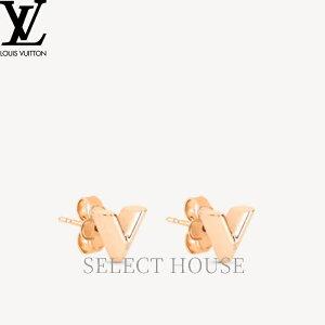 【送料無料】【SELECTHOUSE☆セレクトハウス】LOUIS VUITTON ルイ・ヴィトン エッセンシャルVイヤリング