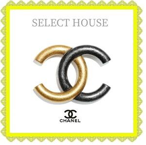 CHANELシャネル21ssブローチゴールド送料無料SELECTHOUSEセレクトハウス海外正規店直接買い付け品
