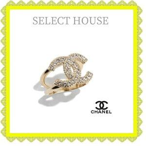 CHANELシャネル21ssリングゴールド送料無料SELECTHOUSEセレクトハウス海外正規店直接買い付け品