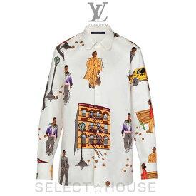 LOUIS VUITTON 【19A】ニューウォーカーズDNAシャツ【お取り寄せ】【SELECTHOUSE☆セレクトハウス】ルイ・ヴィトン メンズ