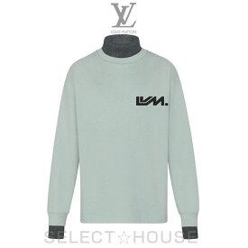 LOUIS VUITTON ウールニットリブトロンプルイユプリンテッドロングスリーブTシャツ【19A】【お取り寄せ】【SELECTHOUSE☆セレクトハウス】ルイ・ヴィトン メンズ