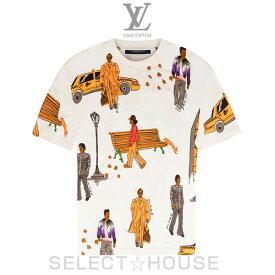 LOUIS VUITTON ニューウォーカーズプリンテッドTシャツ【19A】【お取り寄せ】【SELECTHOUSE☆セレクトハウス】ルイ・ヴィトン メンズ
