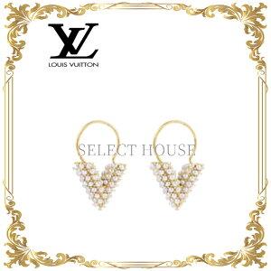 【限定】【送料無料】【SELECTHOUSE☆セレクトハウス】LOUIS VUITTON ルイ・ヴィトン ブックル ドレイユ・フープ エセンシャルV ペルル