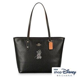 e09c87827efa ディズニー Disney ミニーマウス ジップ トートバッグ コーチ COACH ギフト プレゼント