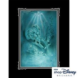 ディズニー Disney アリエル リトルマーメイド アートフレーム アートポスター Noah ギフト プレゼント