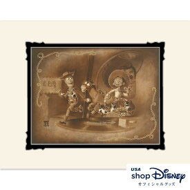 ディズニー Disney トイストーリー アートフレーム アートポスター Noah ギフト プレゼント