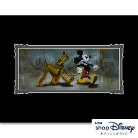 ディズニー Disney ミッキー プルート アートフレーム アートポスター Noah ギフト プレゼント