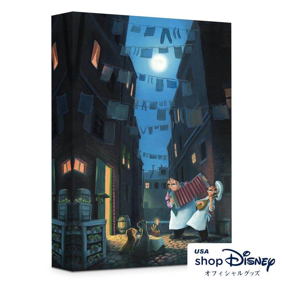 ディズニー Disney わんわん物語 アートパネル Rob Kaz ギフト プレゼント
