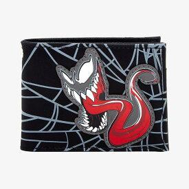 マーベル Marvel ヴェノム 二つ折り財布 ウォレット