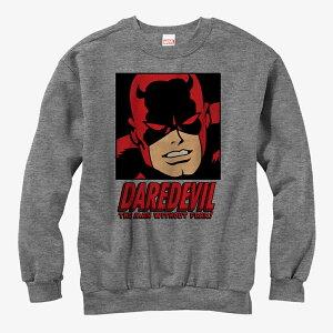 デアデビル スウェット マーベル Marvel レディース メンズ兼用 スウェットシャツ