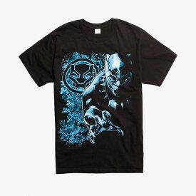 マーベル Marvel レディース メンズ兼用 ブラックパンサー Tシャツ 半袖