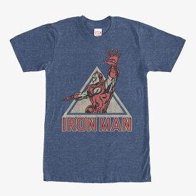 マーベル Marvel レディース メンズ兼用 アイアンマン Tシャツ 半袖
