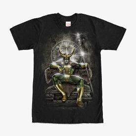 マーベル Marvel レディース メンズ兼用 ロキ マイティ ソー Tシャツ 半袖
