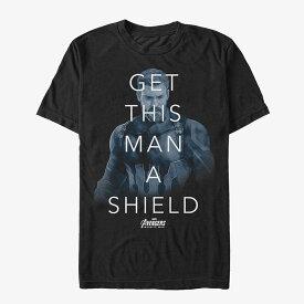 マーベル Marvel レディース メンズ兼用 キャプテンアメリカ Tシャツ 半袖