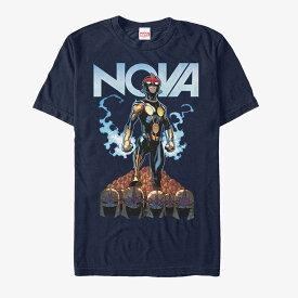 マーベル Marvel レディース メンズ兼用 ノヴァ Tシャツ 半袖