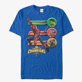 マーベル Marvel レディース メンズ兼用 スパイダーマン Tシャツ 半袖