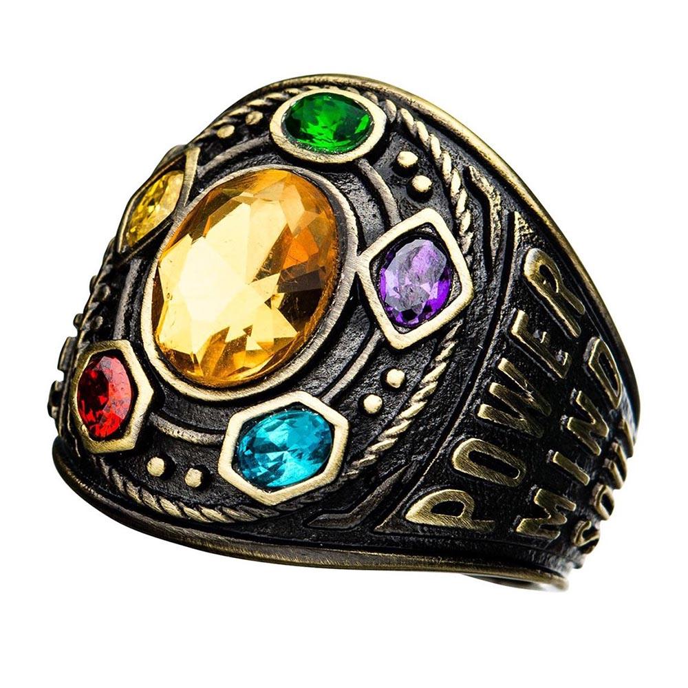 マーベル Marvel サノス アベンジャーズ リング 指輪 インフィニティ ガントレット レディース メンズ