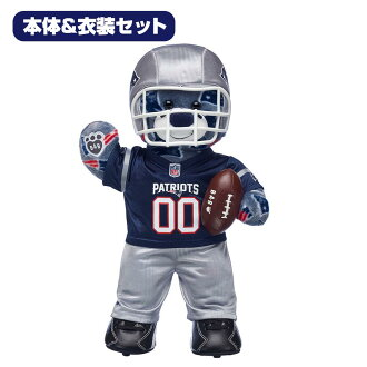 Costume set building door base-up including the Build-A-Bear ダッフィー NFL Patriots sewing