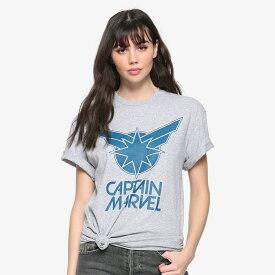 マーベル Marvel キャプテン マーベル Tシャツ 半袖 オーバーサイズ レディース