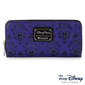 ディズニー Disney ホーンテッドマンション 財布 長財布 ロングウォレット ラウンジフライ Loungefly レディース メンズ ギフト