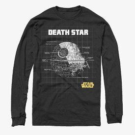 スターウォーズ StarWars デス スター Tシャツ 長袖 長袖/ロングスリーブ レディース メンズ