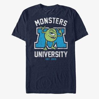 Disney Disney monsters university monsters ink microphone T-shirt short sleeves Lady's men
