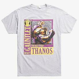 マーベル Marvel アベンジャーズ サノス Tシャツ 半袖 エンドゲーム レディース メンズ