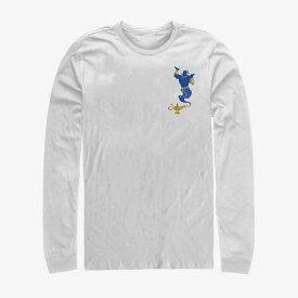 ディズニー Disney アラジン ジーニー Tシャツ 長袖 長袖/ロングスリーブ レディース メンズ