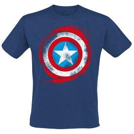 マーベル Marvel キャプテンアメリカ Tシャツ 半袖 レディース メンズ
