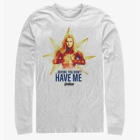 マーベル Marvel キャプテン・マーベル Tシャツ 長袖 長袖/ロングスリーブ アベンジャーズ エンドゲーム レディース メンズ