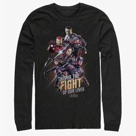 マーベル Marvel アベンジャーズ Tシャツ 長袖 長袖/ロングスリーブ エンドゲーム レディース メンズ