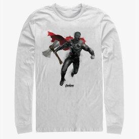マーベル Marvel マイティ・ソー Tシャツ 長袖 長袖/ロングスリーブ アベンジャーズ エンドゲーム レディース メンズ