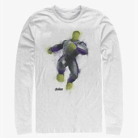 マーベル Marvel ハルク Tシャツ 長袖 長袖/ロングスリーブ アベンジャーズ エンドゲーム レディース メンズ