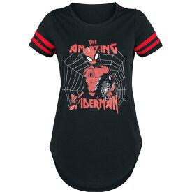 マーベル Marvel スパイダーマン Tシャツ 半袖 レディース