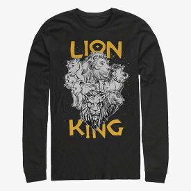 ディズニー Disney ライオンキング Tシャツ 長袖 長袖/ロングスリーブ レディース メンズ