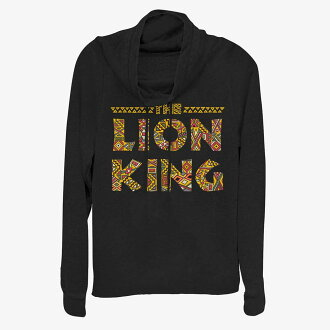 Disney Disney Lion King sweat shirt cowl neck Lady's