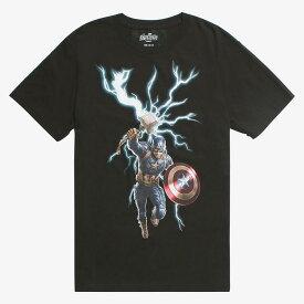 マーベル Marvel キャプテンアメリカ Tシャツ 半袖 アベンジャーズ エンドゲーム レディース メンズ