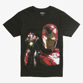 マーベル Marvel アイアンマン Tシャツ 半袖 アベンジャーズ エンドゲーム レディース メンズ