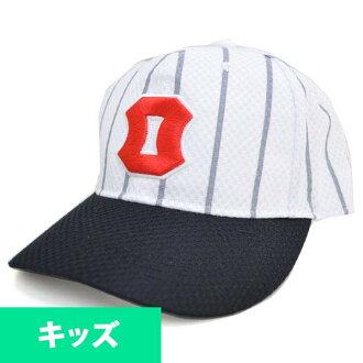 阪神老虎商品小孩盖子/帽子2015复版1938-40美津浓