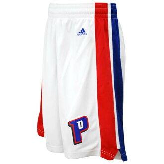 Adidas NBA Detroit Pistons Revolution Swingman shorts (home)