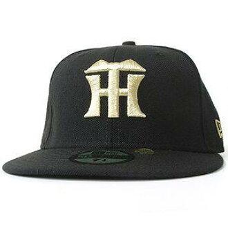 阪神虎帽黑色和金色的新時代和新時代 (NPB 自訂顏色帽)