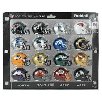 NFL NFC小復製品安全帽conference安排(SPEED)再戴爾/Riddell
