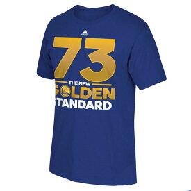 NBA ウォリアーズ レコード ブレーキング シーズン ニュー ゴールデン スタンダード Tシャツ アディダス/Adidas【1808NBA】【1907セール】